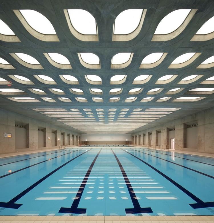 Centro Acuático de los Juegos Olímpicos de Londres 2012. Image © Hélène Binet