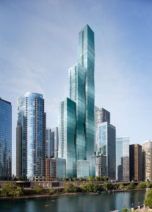 New Images of Studio Gang's Vista Tower Revealed, Courtesy of Magellan Development Group