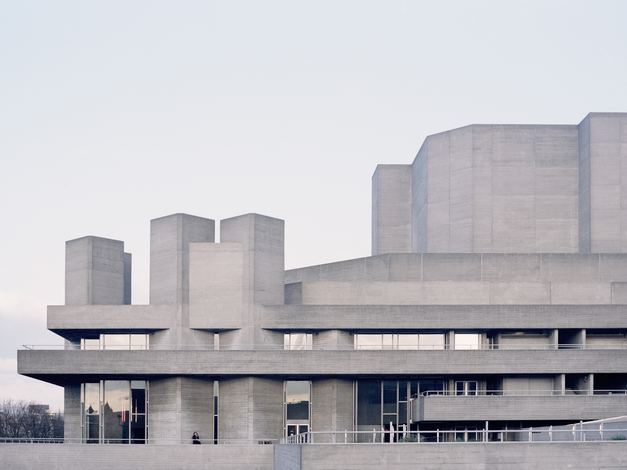 Gallery of utopia photo series captures london s brutalist for Architecture brutaliste
