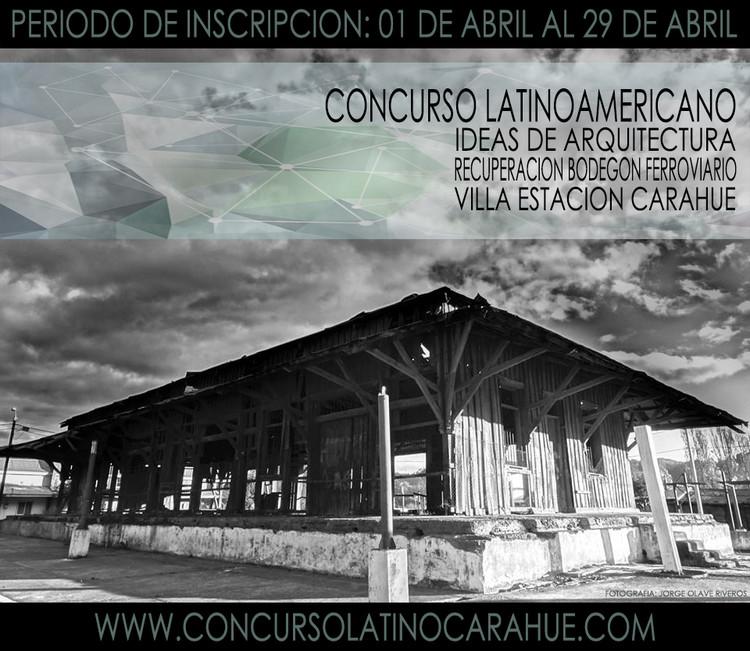 Concurso Latinoamericano Ideas de Arquitectura, Recuperación Bodegón Ferroviario, Carahue , Galería Histórica Carahue