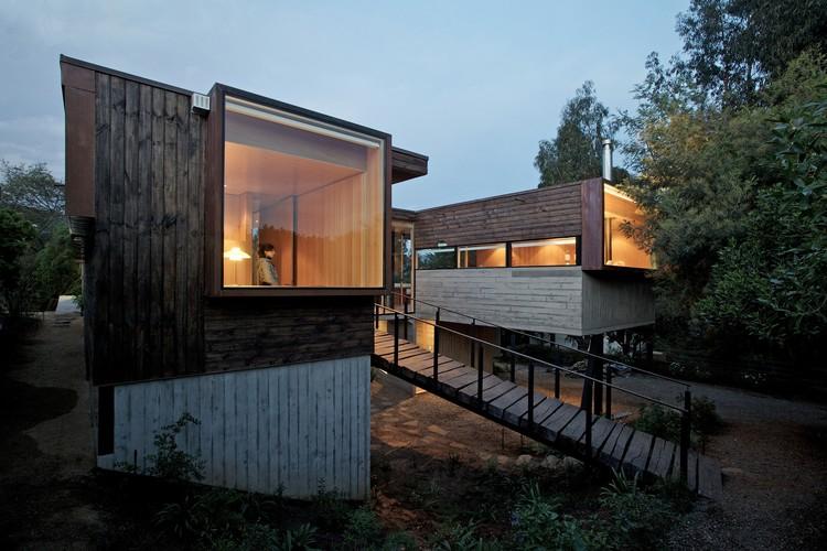 Casa Los Molles / dRN Arquitectos + Oltmann Ahlers W + Oltmann Ahlers G, © Nico Saieh