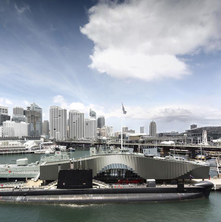 The Waterfront Pavilion – Australian National Maritime Museum  / FJMT Studio, © Brett Boardman