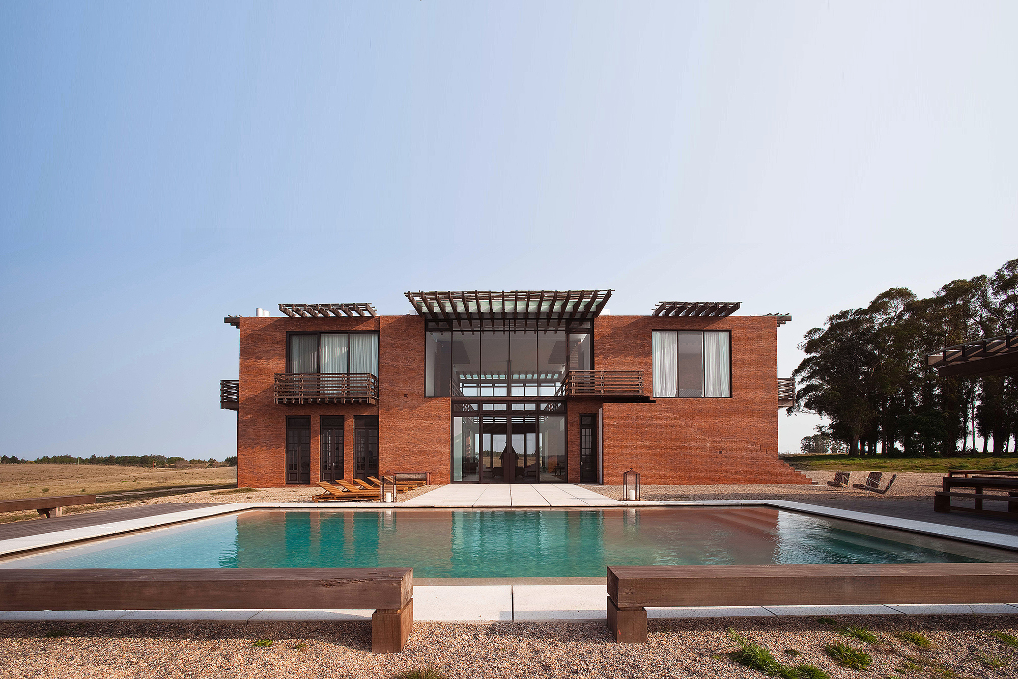 Gallery of luna llena house candida tabet arquitetura 6 - Residence secondaire candida tabet architecture ...