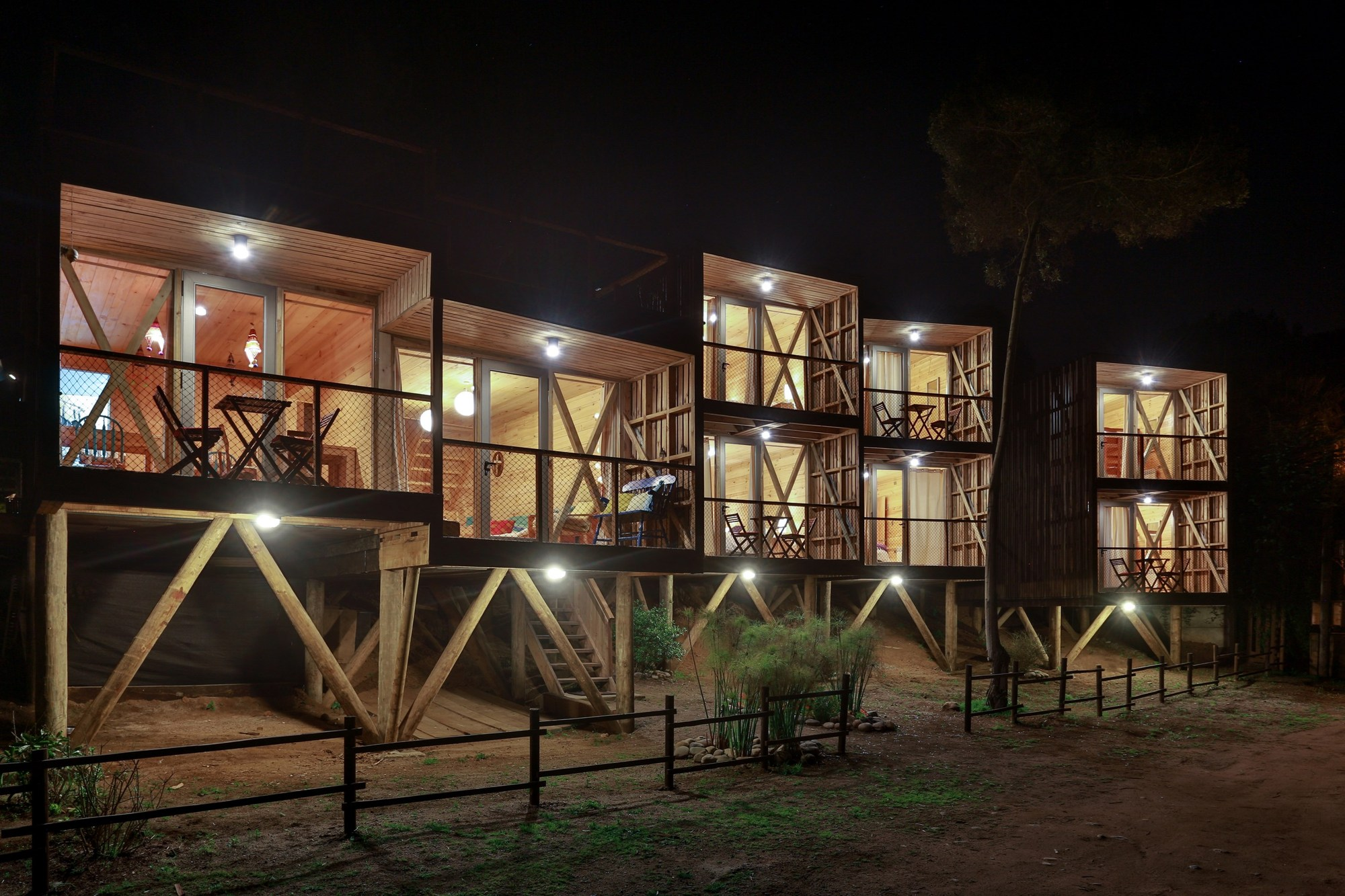 Hostal ritoque alejandro soffia gabriel rudolphy for Arquitectura minimalista casas