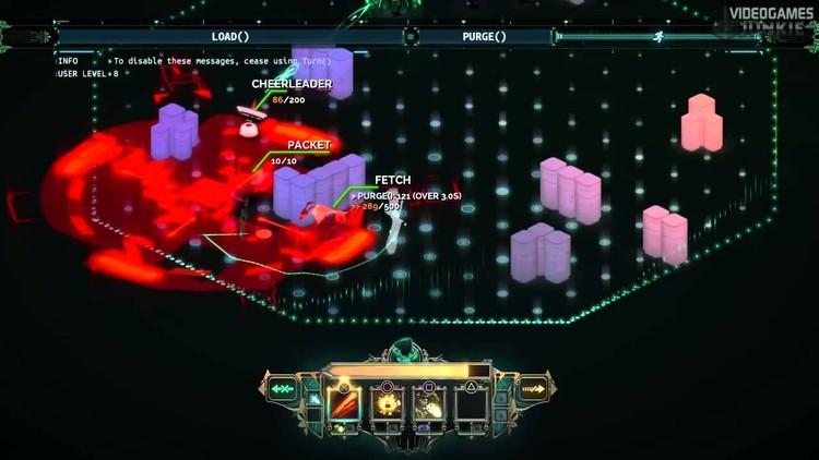 Imagen de combate de Transistor. Sólo quedamos nosotros, los parapetos y los enemigos, todo lo demás sobra.. Image © Supergiant Games