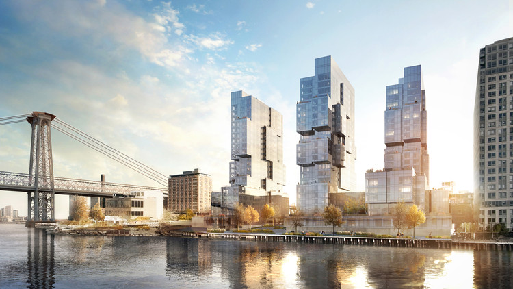 ODA Unveils New Residential Towers for Brooklyn, Courtesy of ODA