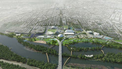OMA Reveals Plans to Redevelop Washington DC's RFK Stadium Campus