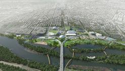 OMA revela dos planes de remodelación del Estadio RFK en Washington DC