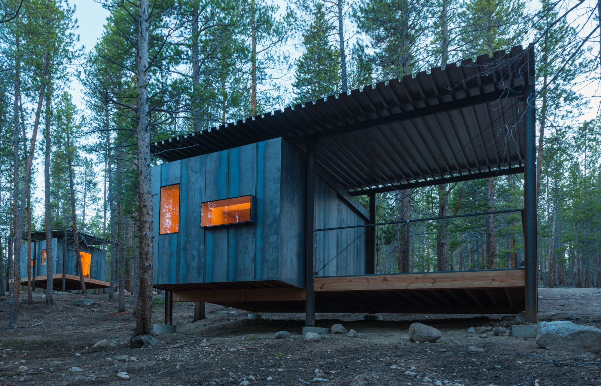 Gallery of Colorado Outward Bound Micro Cabins ...