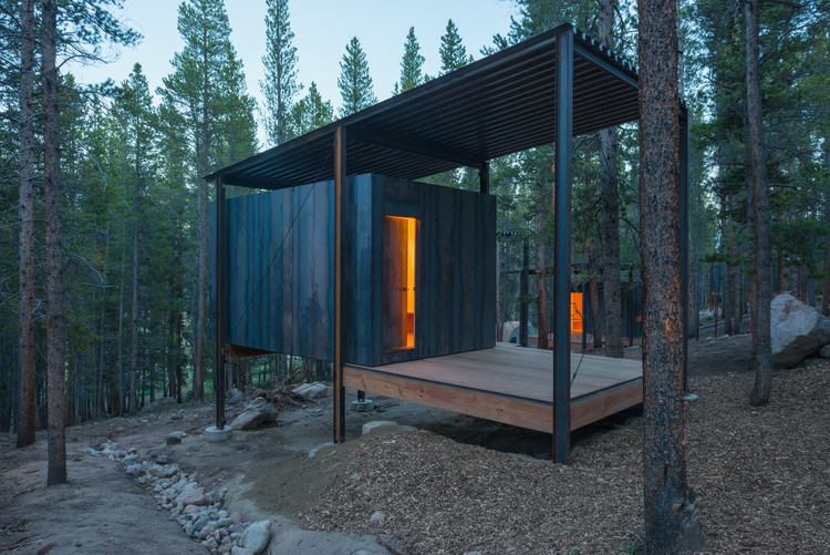Colorado outward bound micro cabins university of for Piani casa micro cottage