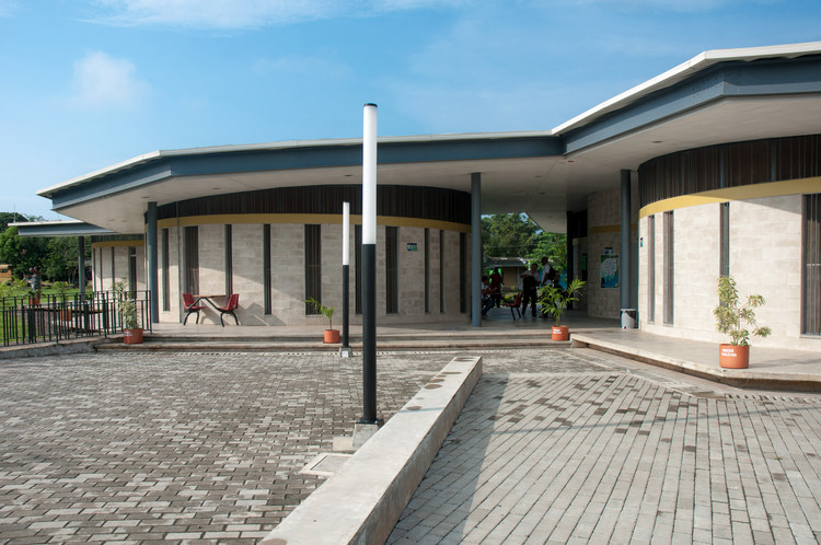 Parque Educativo Rio De Guaduas / Célula Arquitectura, © Andrés Arias Marin