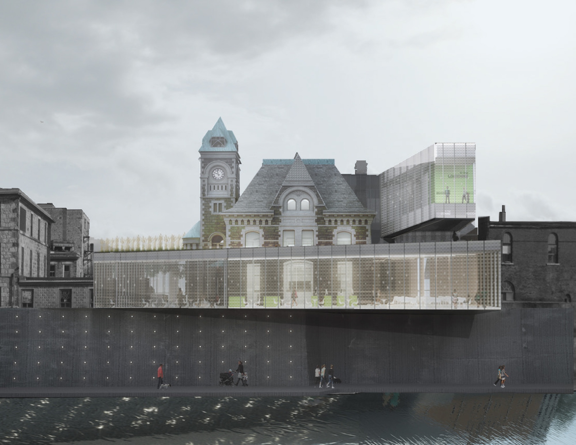 Old And New Architecture Design Relationship gallery of rdh architects to convert a historic canadian post