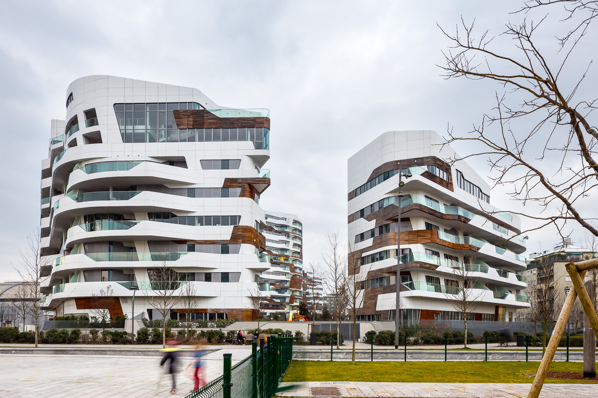 Citylife apartments zaha hadid architects archdaily for Architecture 00