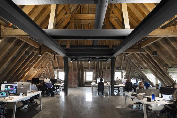 Lightspeed's Headquarters / acdf architecture, © Adrien Williams