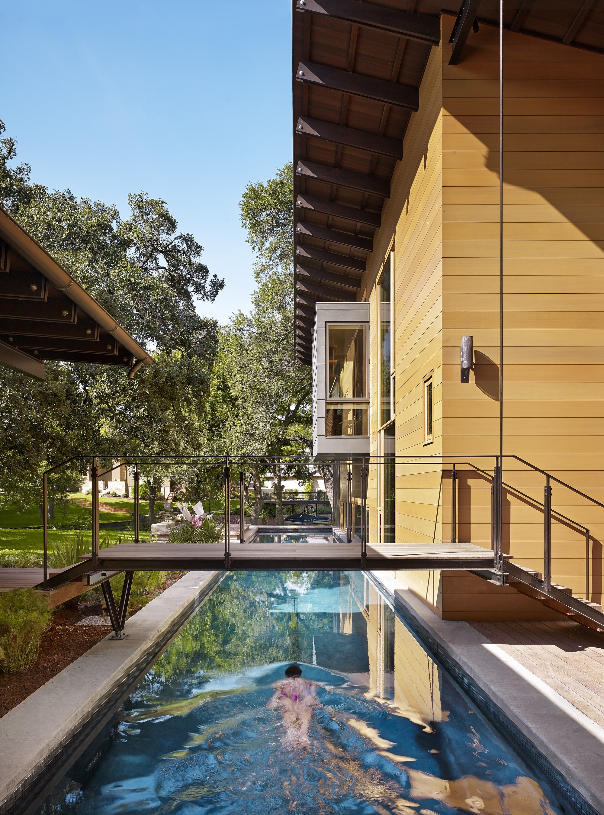 Cost to build a new house in austin - Aia Names 10 Best Us Houses Of 2016 Custom Housing Hog Pen Creek Retreat