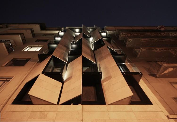 Apart Hotel Ismael 312 / Estudio Larrain, © Rodrigo Larrain Illanes