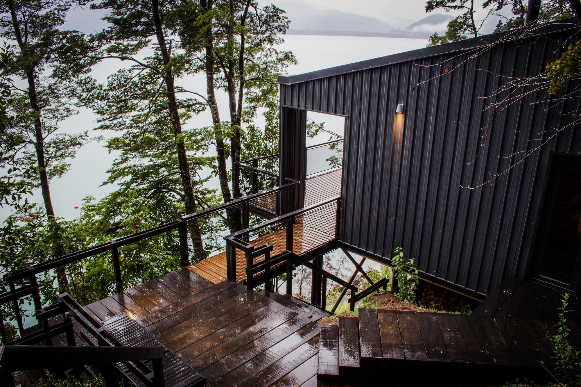 House on todos los santos lake apio arquitectos archdaily - Casas de arquitectos ...