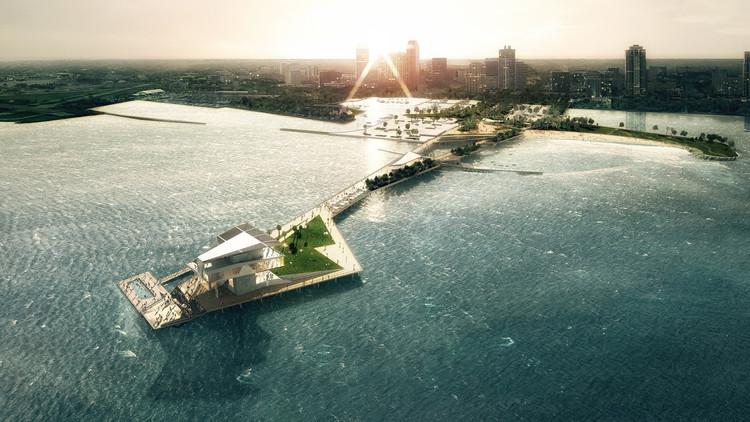 Diseño esquemático de nuevo muelle en San Petersburgo obtiene aprobación municipal, Cortesía de ROGERS PARTNERS Architects+Urban Designers