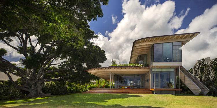 Vivienda personalizada: Island Residence; Honolulu / Bohlin Cywinski Jackson. Imagen Cortesía de AIA