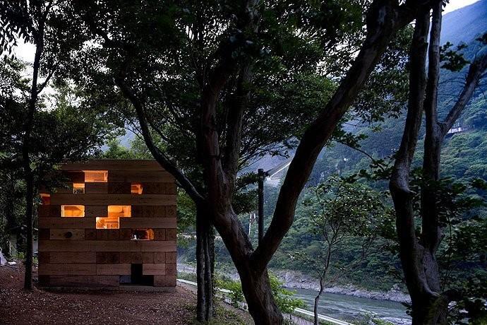 Final Wooden House. Image © Iwan Baan