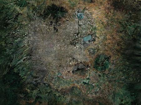 Cuenca del Valle de México, 2010. Image Cortesía de Taller13