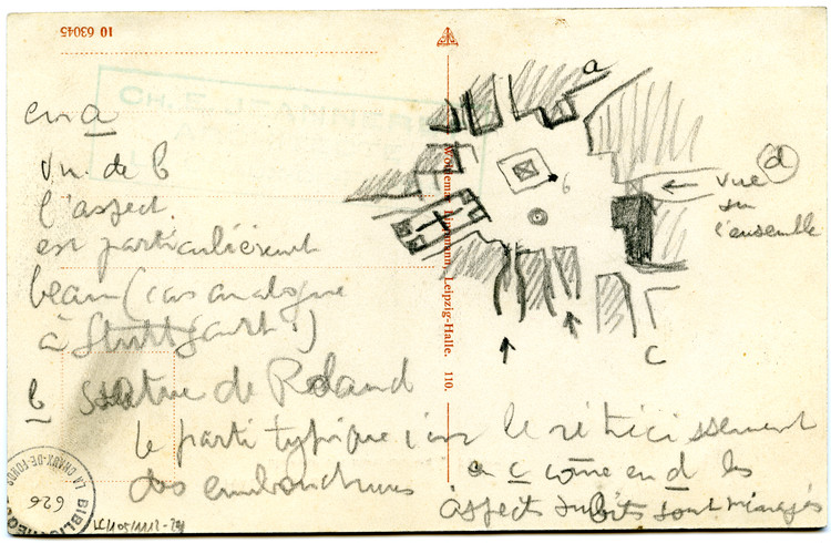 Drawing on the Road: The Story of a Young Le Corbusier's Travels Through Europe, © F.L.C. / ADAGP, Paris / Artists Rights Society (ARS), New York 2016