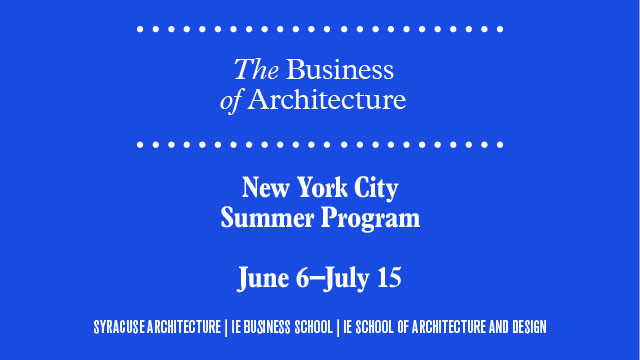 Summer Program: The Business of Architecture