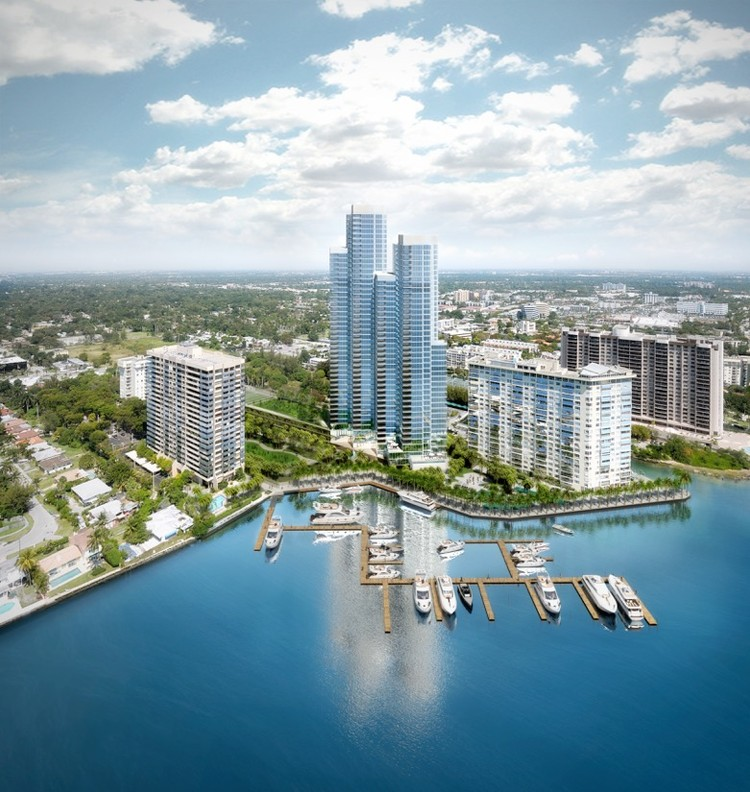 Rafael Moneo Reveals Design of His First Condo Tower in Miami, Courtesy of Apeiron Miami