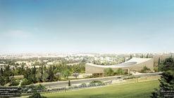 Herzog & de Meuron comparten nuevas imágenes de la Biblioteca Nacional de Israel