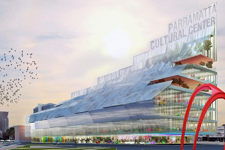 Manuelle Gautrand, DesignInc y Lacoste + Stevenson ganan concurso en Australia, Cortesía de Manuelle Gautrand Architecture
