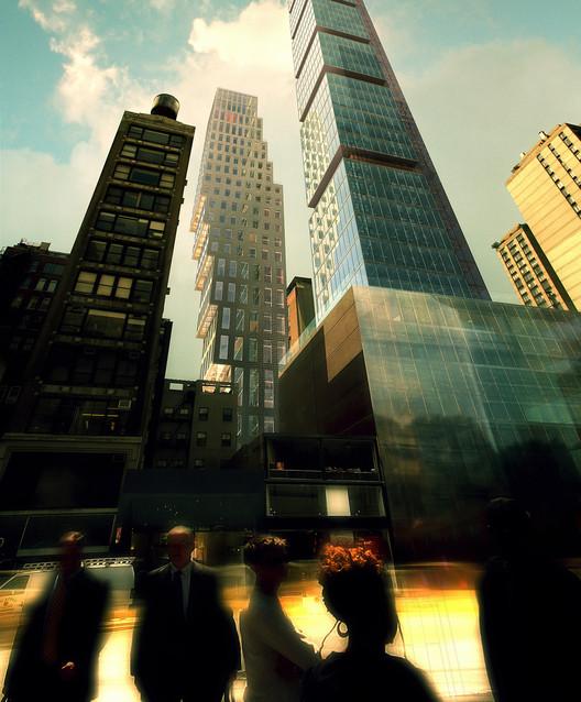 Propuesta para 23 E 22nd Street (2008). Imagen cortesía de OMA