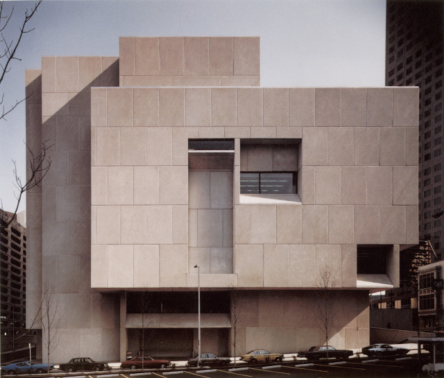 Marcel Breuer's Central Library in Atlanta Faces Demolition Threat, The Atlanta Central Library by Marcel Breuer, currently slated for replacement.. Image via Docomomo