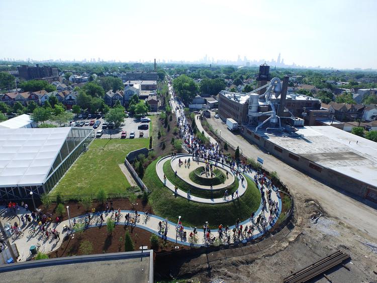 The 606: el nuevo parque urbano de Chicago construido en una abandonada línea de trenes, © The606Chicago, vía Flickr