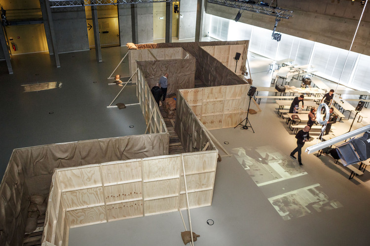 Instalación curada por Malkit Shoshan en Het Nieuwe Instituut, Rotterdam (2014).. Image © Matthijs Immink