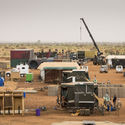 Malkit Shoshan on How the City is a Shared Ground for the Instruments of War and Peace Initial set-up, Camp Castor, Gao (Mali). Image © The Dutch Ministry of Defense