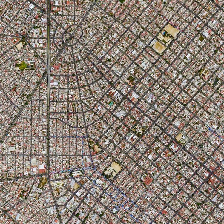 Guadalajara, México.  Imagen cortesía de Daily Overview. © Satellite images 2016, DigitalGlobe, Inc