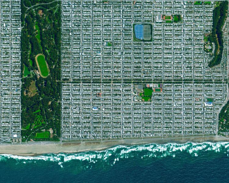 San Francisco, California, EE.UU. Imagen cortesía de Daily Overview. © Satellite images 2016, DigitalGlobe, Inc