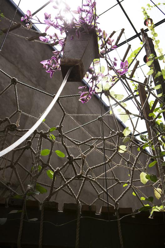 Sistema de riego a través de mangueras. Image © MABO PHOTO