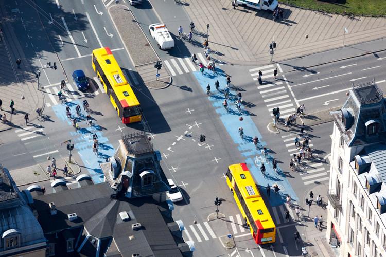 Fotografías aéreas de Alex MacLean: Cómo la planificación urbana influye en la baja huella de carbono, Copenhague, Dinamarca. Image © Alex MacLean