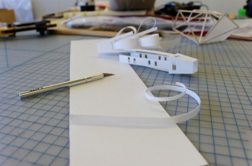 Us architecture school bans styrene as model making for Waste material model making