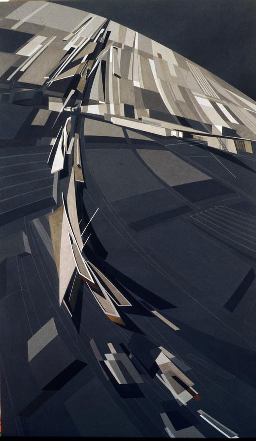 Painting (Zaha Hadid). Image © Zaha Hadid Architects