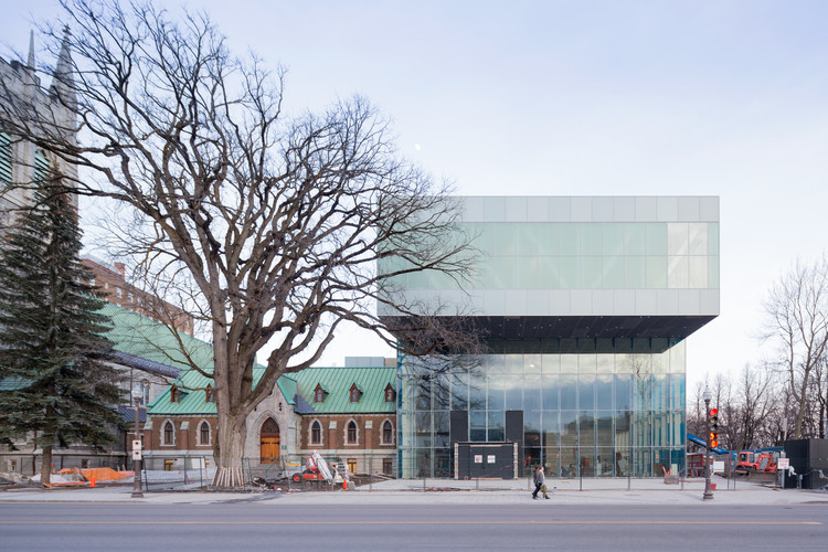 OMA's Pierre Lassonde Pavilion of the Musée National des Beaux-Arts du Québec to Open in June, Courtesy of OMA, Photograph by Iwan Baan