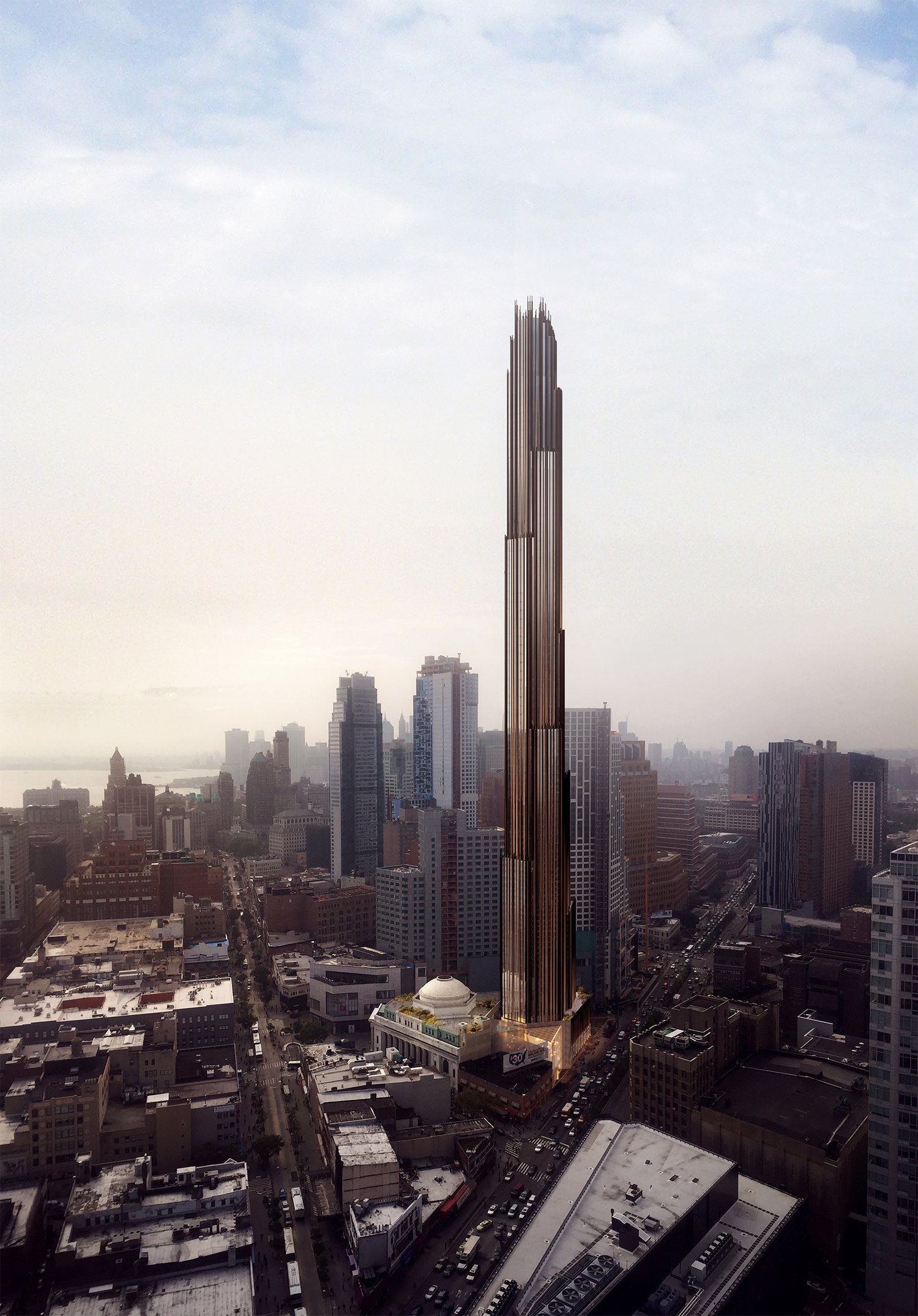 shop wins landmarks commission approval for brooklyn supertall via yimby brooklyn industrial office