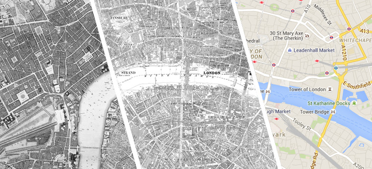 Take a Look Through London's History with this Interactive Map, via Locating London's History