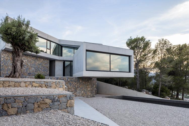 Casa a l aspre nomarq estudi d arquitectura for Plataforma de arquitectura