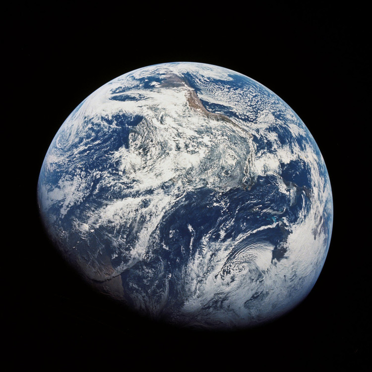 "In Celebration of Earth Day, 5 Overviews of Our Planet, Earth ""Overview"". Image Courtesy of NASA"