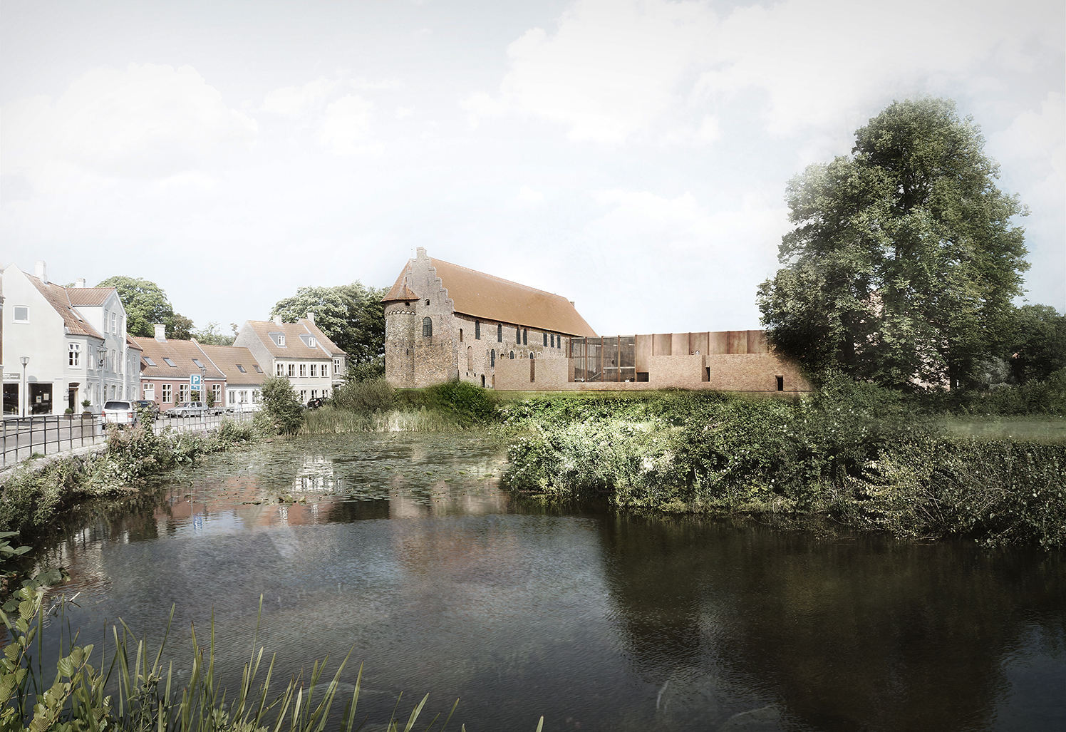 Cubo + jaja Win Competition to Restore the Nyborg Castle in Denmark | ArchDaily