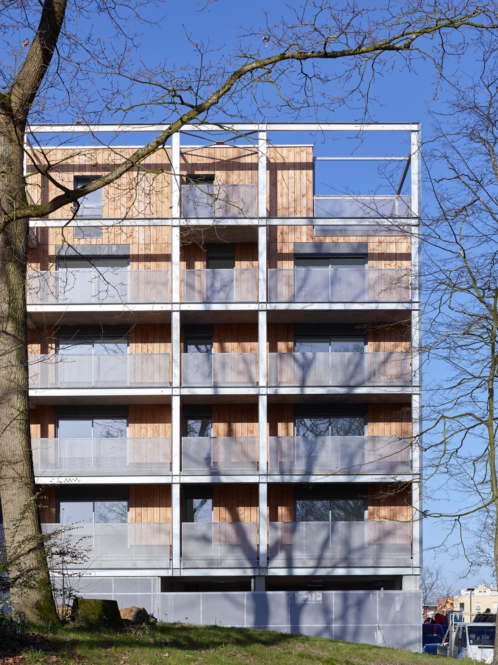 gallery of callot b1 housing jacques boucheton architectes 4. Black Bedroom Furniture Sets. Home Design Ideas