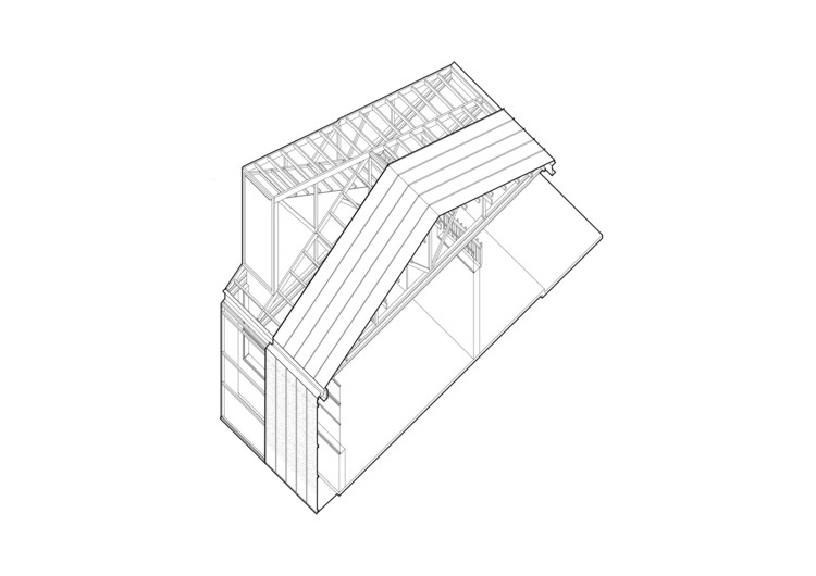 Axonométrica Estructura Colegio