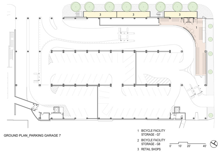 Ground Plan Parking Garage 7